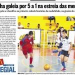 Intercolegial 2013- Futsal Jovem Feminino