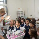 Fotos: Semana das Profissões na Educação Infantil - Maternal II visita consultório dentário.