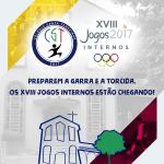 Os XVIII Jogos Internos do Santa estão chegando. Preparem-se!