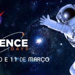 Venha prestigiar o Santa no NASA Science Days! É neste sábado e domingo (10 e 11 de março)!
