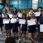 Estudantes da 1º Oficina de Astronomia e Astronáutica do Santa recebem certificados!