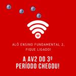 Calendário das Avaliações (AV2) do 3º Período 2018 – EF2