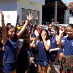 Camajufra 2018 entrega doações para instituição que atende crianças de Itaoca.