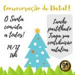 O Santa agradece a parceria escolar de 2018 e convida para a confraternização de Natal de sexta-feira (14/12), às 16h.