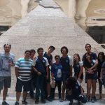 Alunos do 1º e do 2º anos do Ensino Médio visitam exposição sobre o Egito Antigo no CCBB.