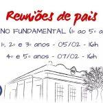 Reuniões de Pais EF1 - 2020
