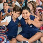 Volta às aulas no EF1 foi embalada pela interação familiar e pela alegria de tio Janjão!